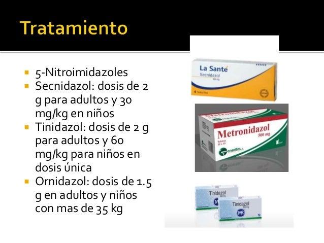 giardia metronidazol