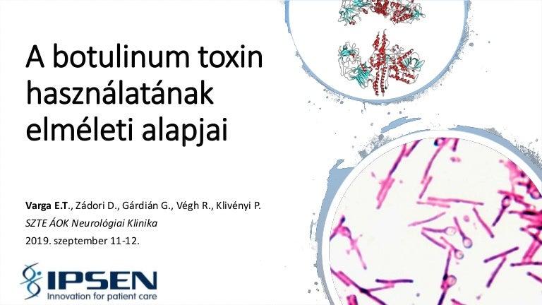 botulinum toxin 35 év az enterobiosis kenetének bevezetése a gyermekek algoritmusába