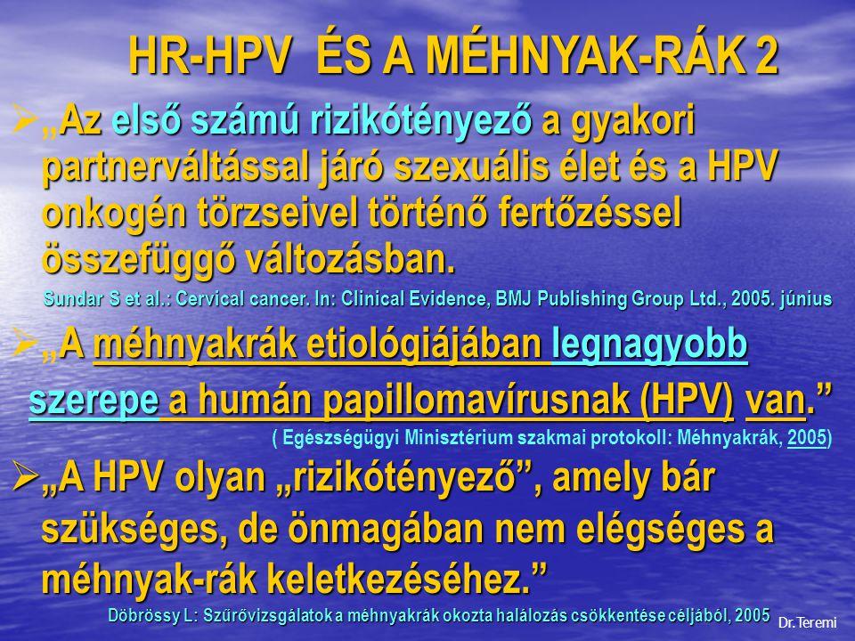 emberi papillomavírus fertőzések bmj