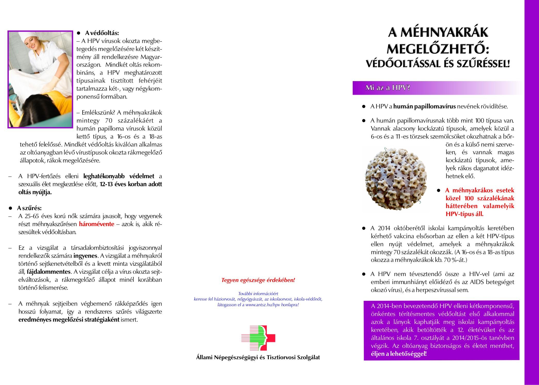 herpeszvírus vagy hpv