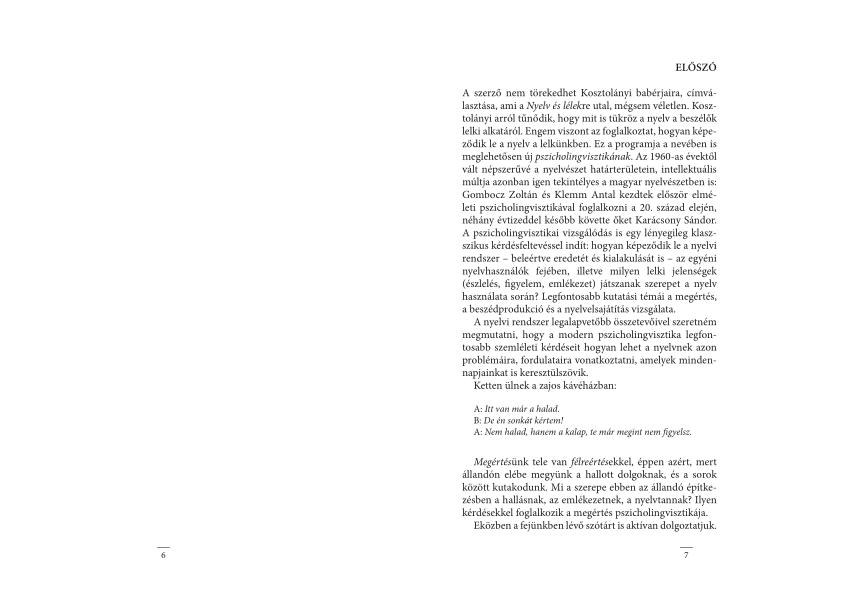 Vers, próza / A tagadás tornya