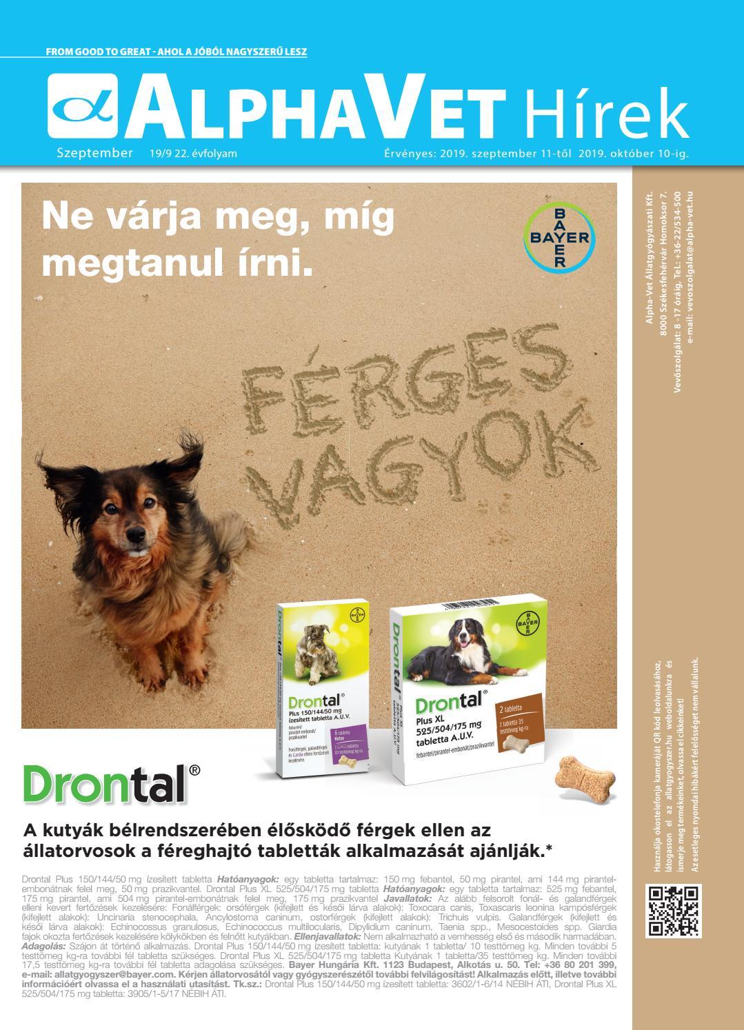 állatgyógyászat férgek ellen