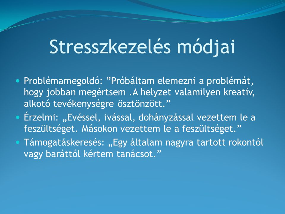 stressz kezelés szemölcsök a nyakon mi ez